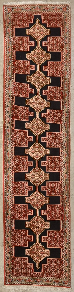Vintage Senneh rugs and more oriental carpet 33974-