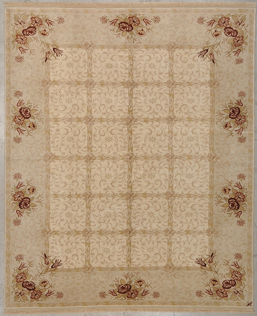 Original Angora Oushak rugs and more oriental carpet 33973-