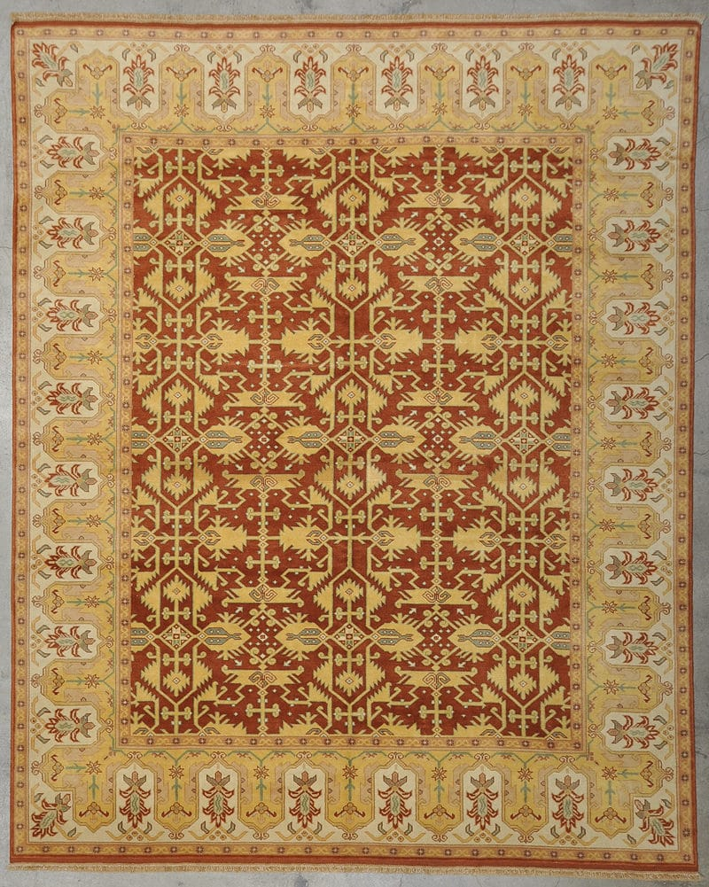 Original Angora Oushak rugs and more oriental carpet 33970-