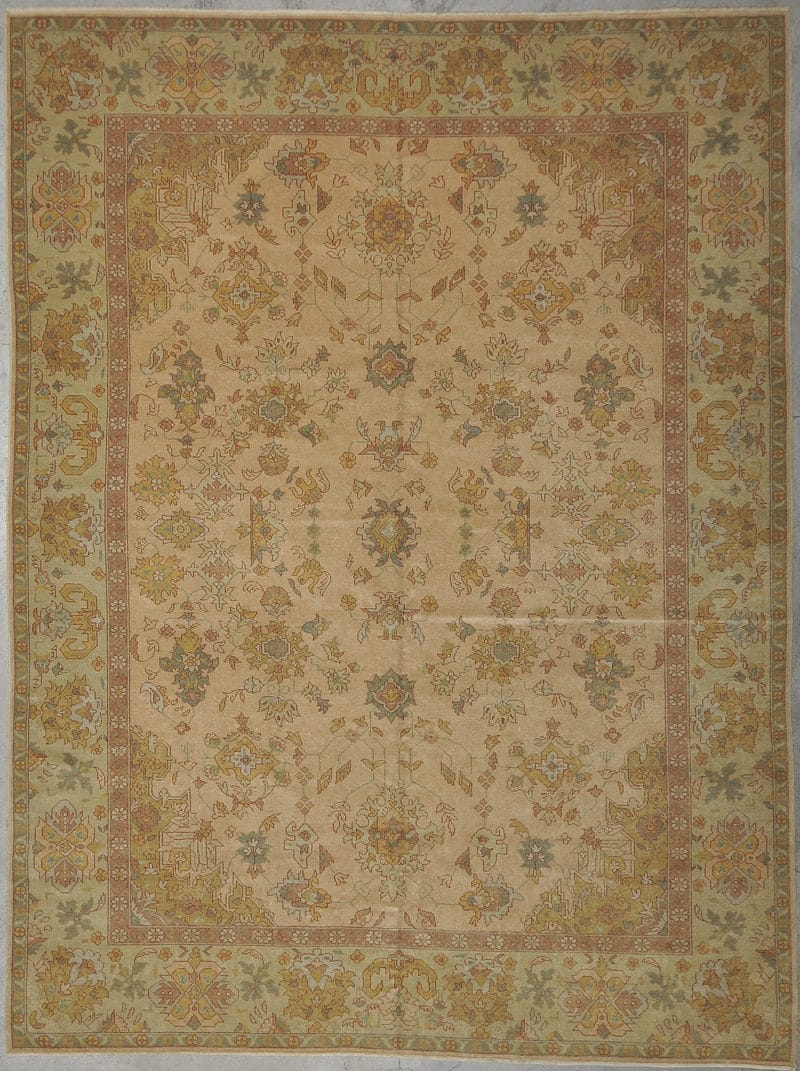 Original Angora Oushak rugs and more oriental carpet 33969-