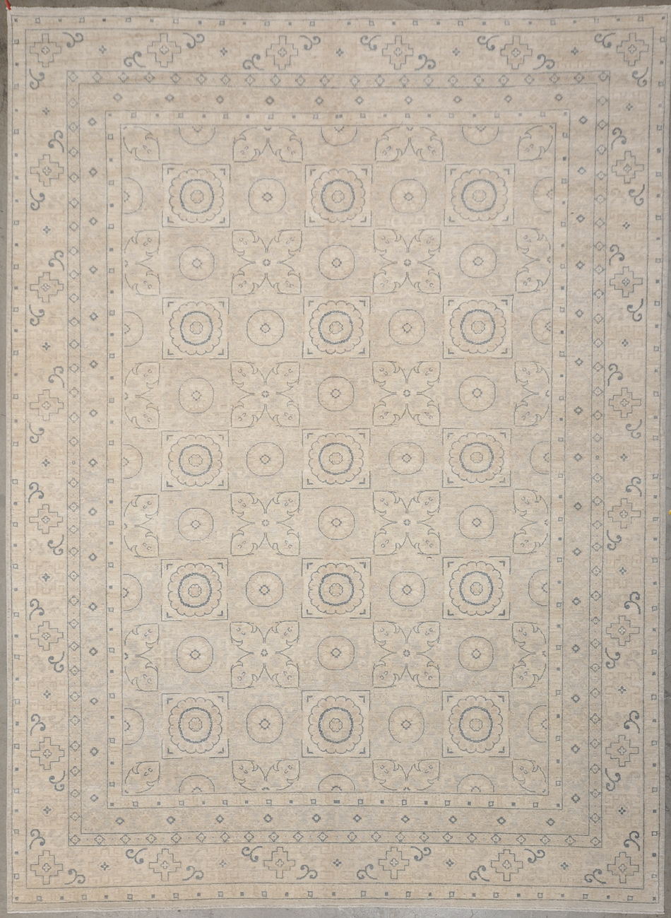 Vintage Khotan rugs and more oriental carpet 34116-