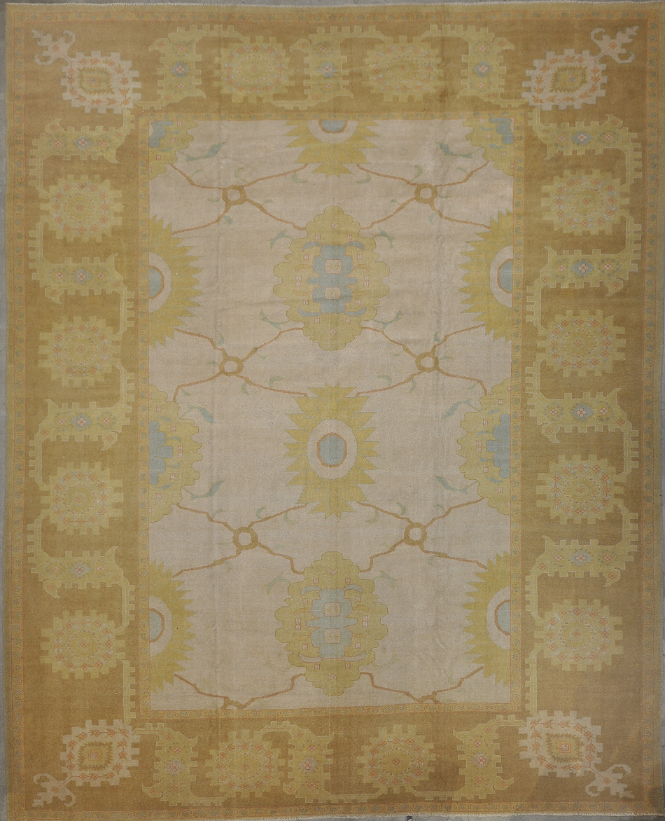 Vintage Turkish Oushak rugs and more oriental carpet 34121-