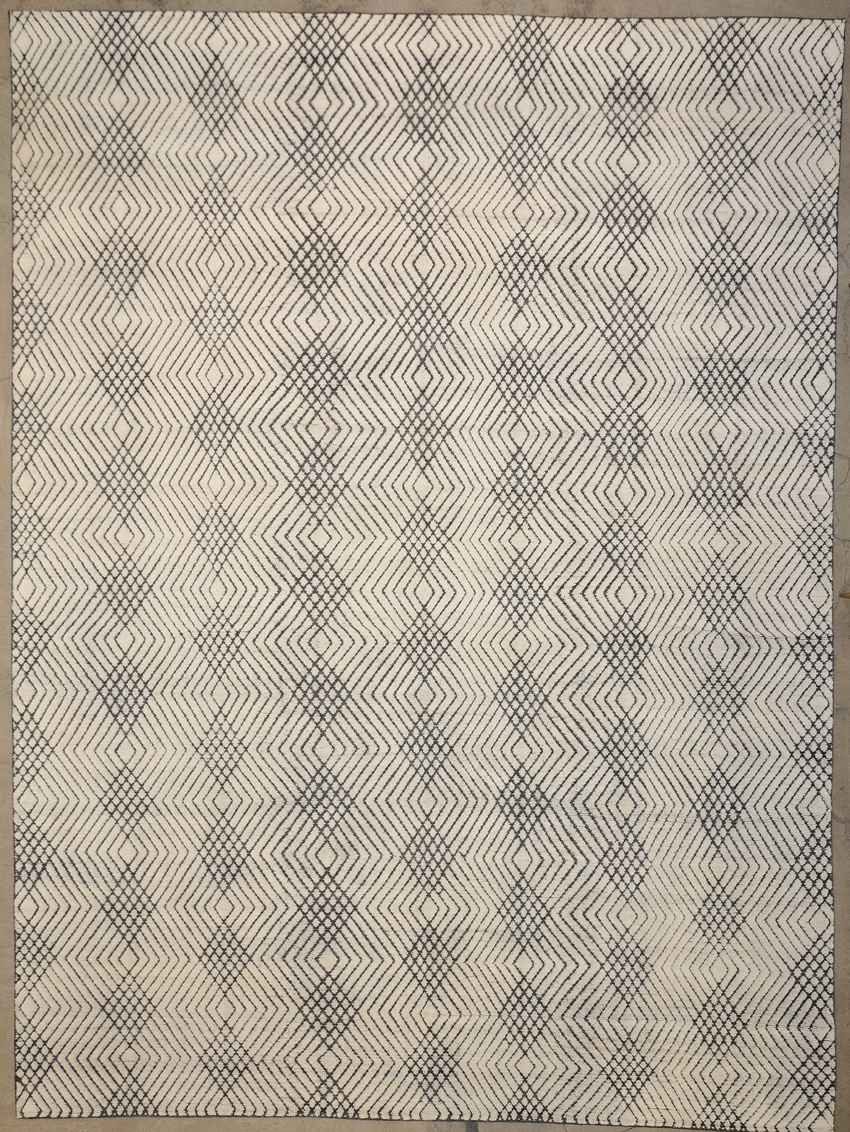 Modern Harmony Grey rugs and more oriental carpet 34155-