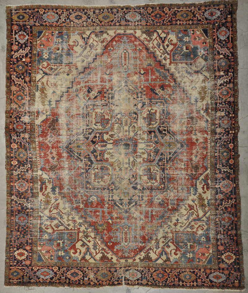 Antique Serapi rug rugs and more oriental carpet 34142-