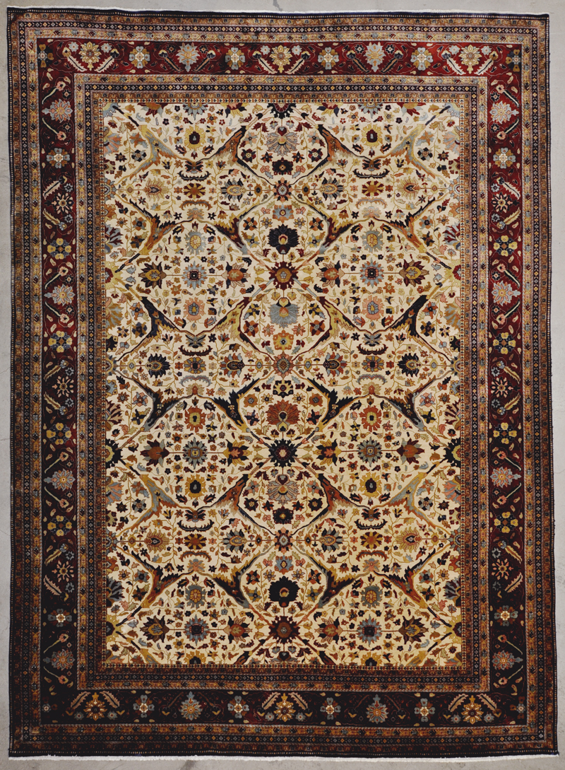 Vintage Hereke Rug rugs and more oriental carpet 34189-