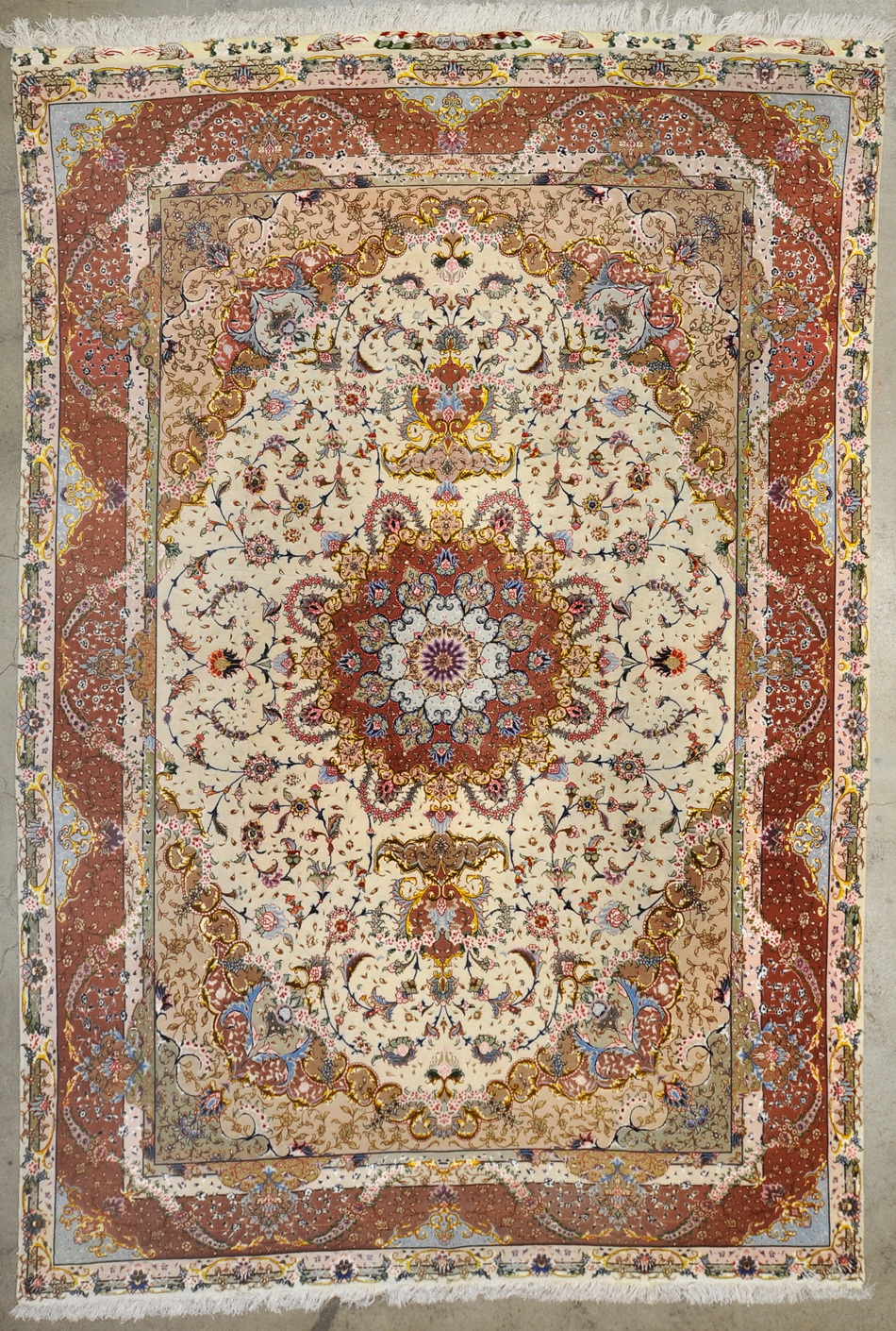 Vintage Persian Tabriz rugs and more oriental carpet 34190-