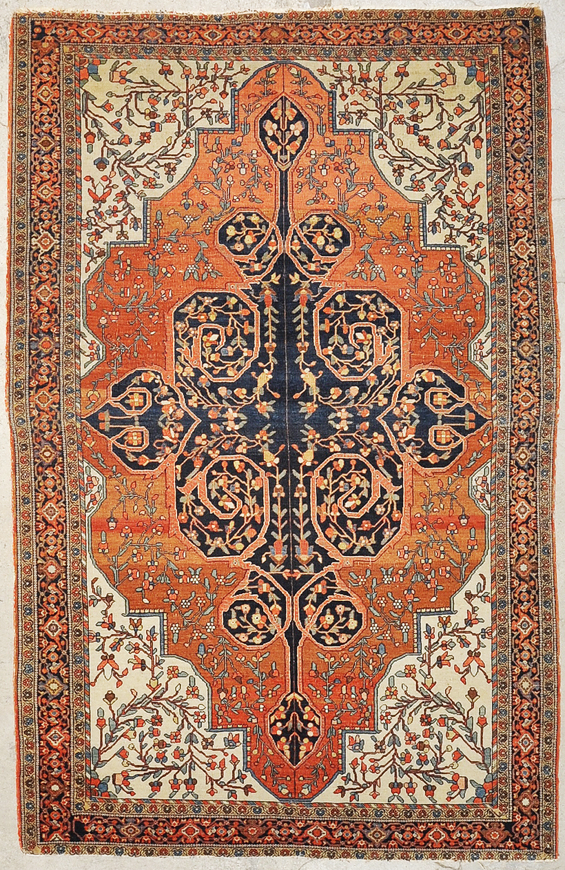 Antique Sarouk Farahan rugs and more oriental carpet 34197-