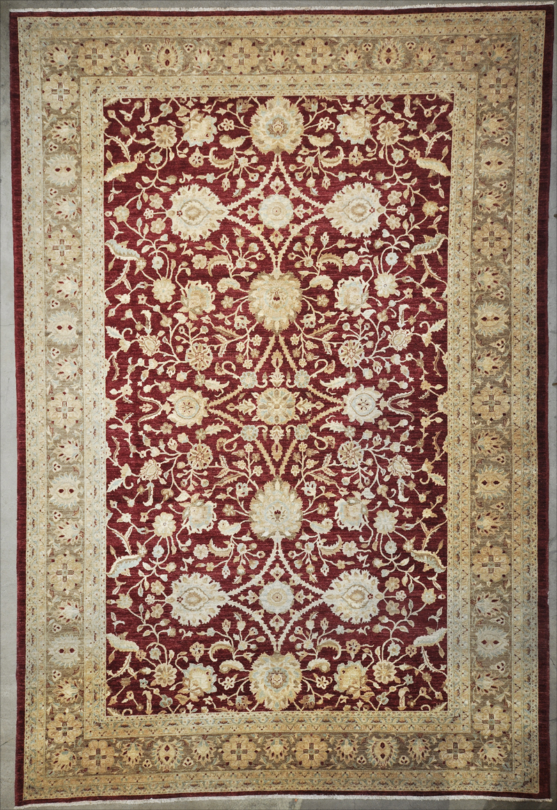Fine Ziegler & Co Oushak rugs & more oriental carpet 34201-
