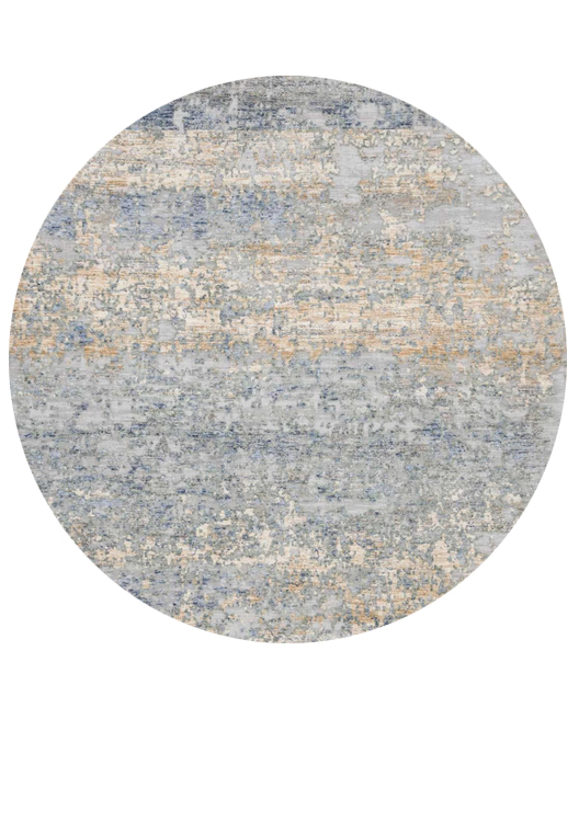 Modern Blue Gold rugs and more oriental carpet 34248-
