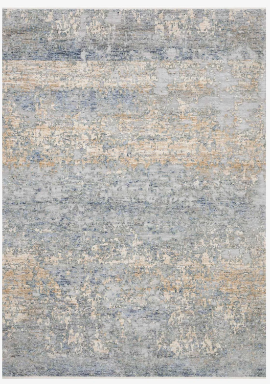 Modern blue gold rugs and more