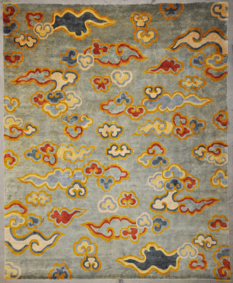 Tibetan Prosperity Cloud rugs and more oriental carpet -