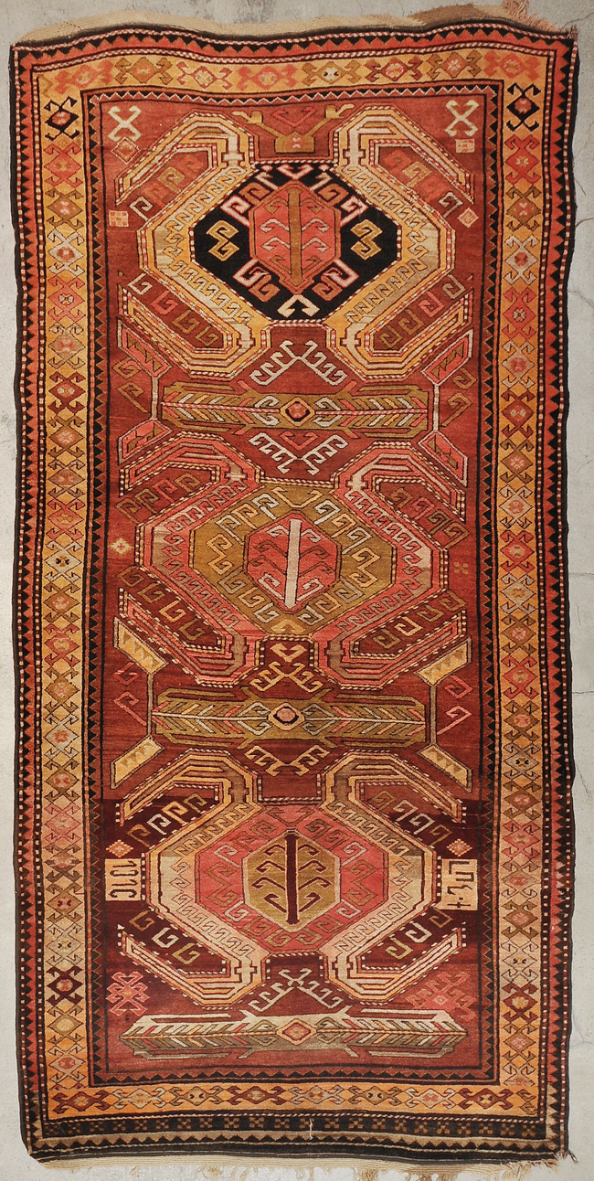 Antique Kazak rugs and more oriental carpet 34379-