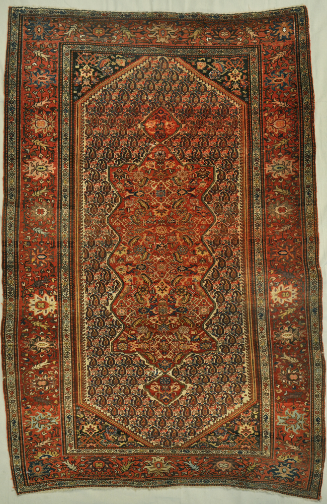Antique Farahan rugs and more -
