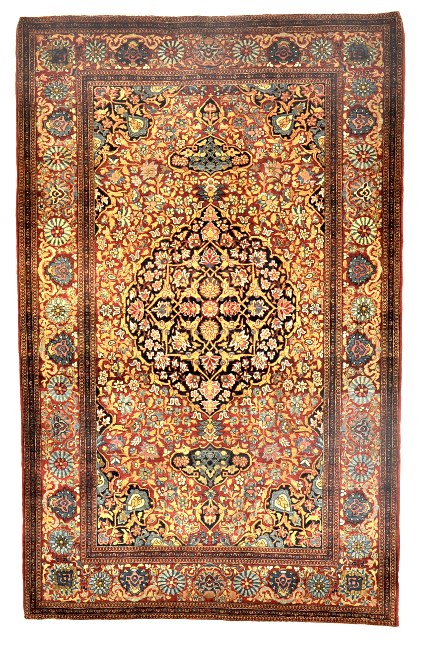 Antique Isphahan Rug rugs and more oriental carpet -
