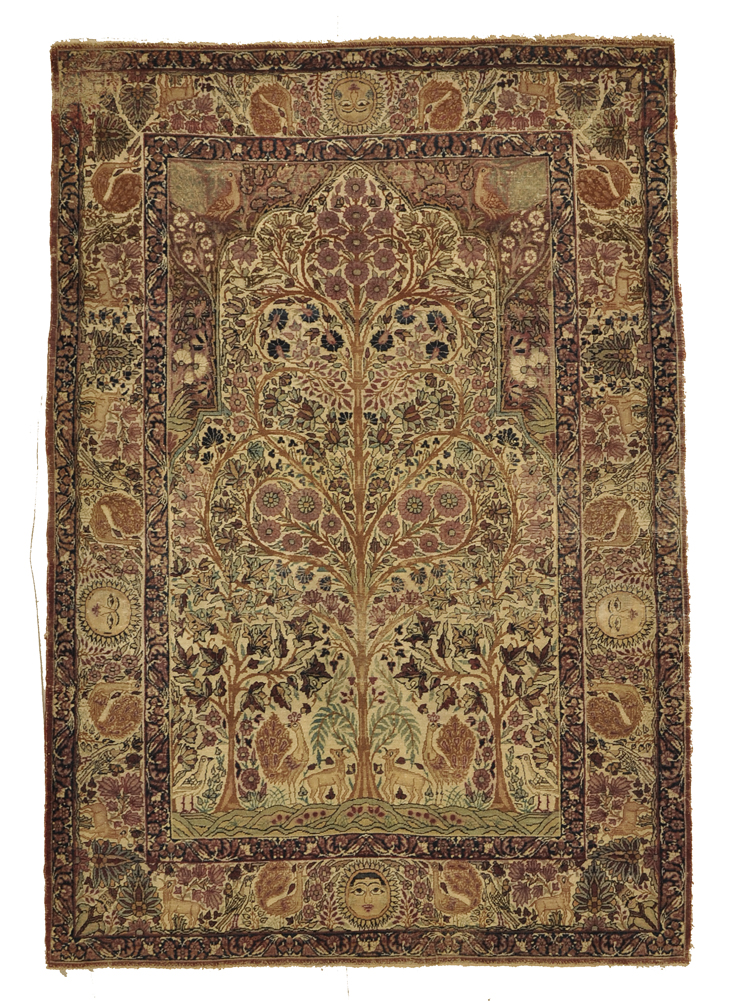Antique Kerman Rug rugs and more oriental carpet -1
