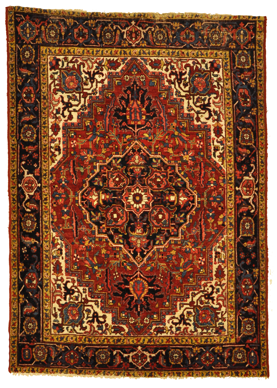 Antique Heriz Rug rugs and more oriental carpet 34567-