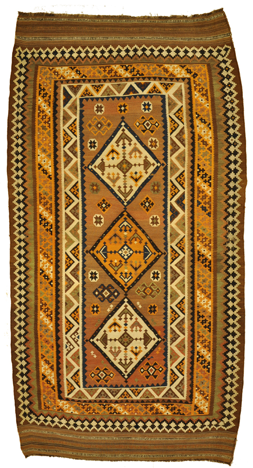 Antique Qashqai Kelim rugs and more oriental carpet -