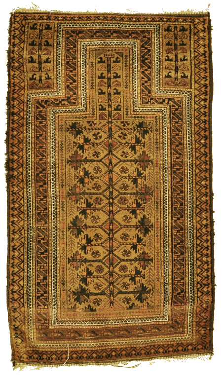 Antique Baluchi Rug rugs and more oriental carpet-1