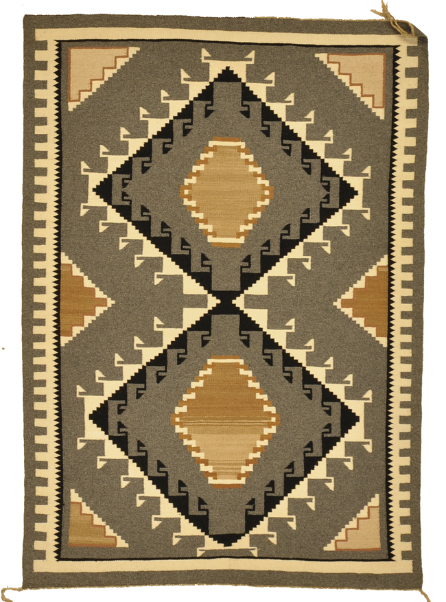 Antique Navajo rugs and more oriental carpet -