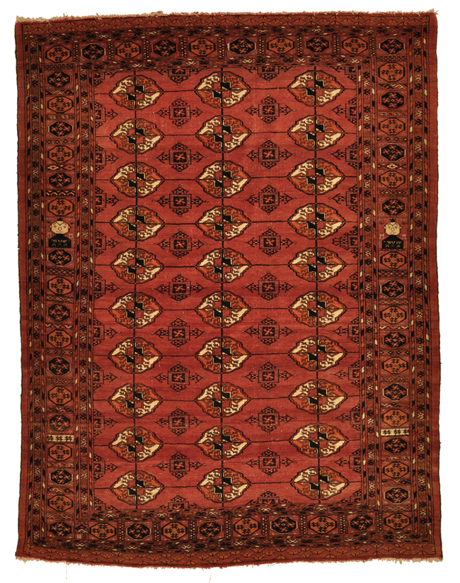 Antique Turkaman Rug rugs and more oriental carpet -