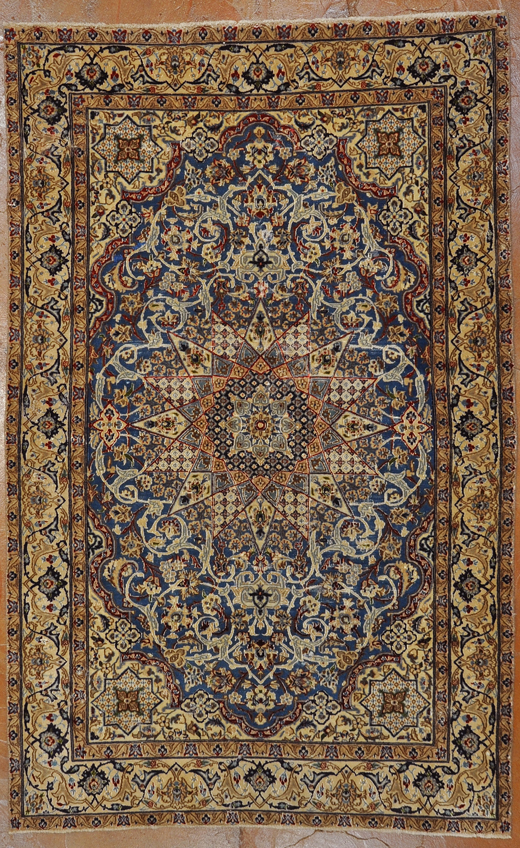 Antique Nain rug rugs and more oriental carpet -1