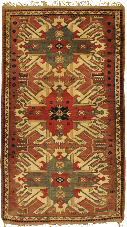 Antique Eagle Rug rugs and more oriental carpet -