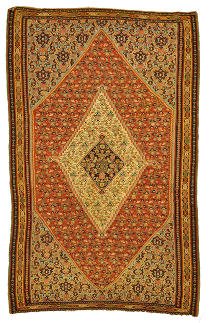Antique Senneh Kelim Rugs and more oriental carpet -