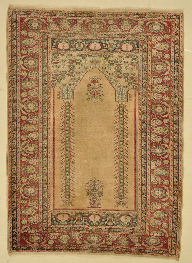 Antique Silk Prayer rugs and more oriental carpet -