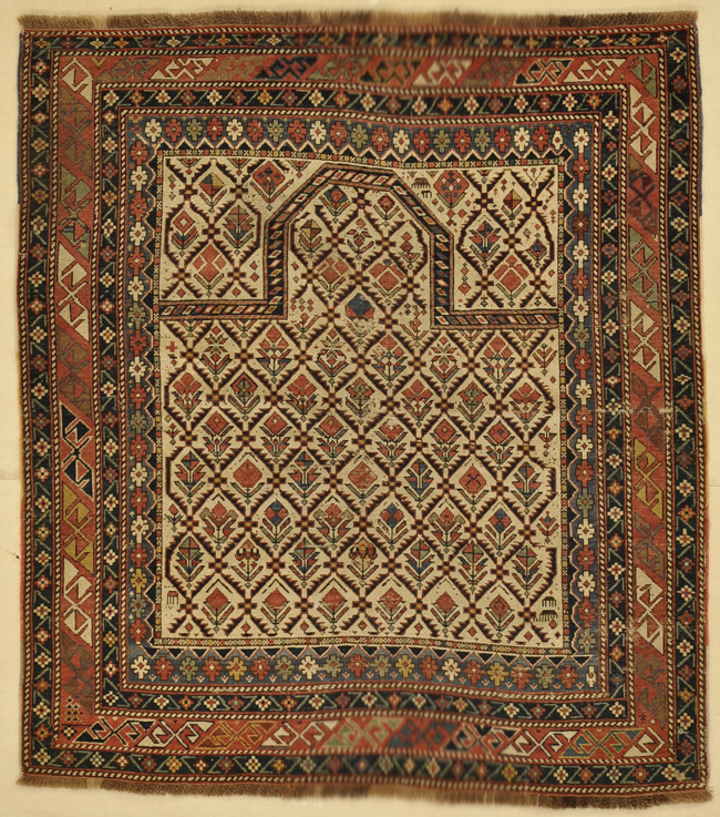 Antique Shirvan rug