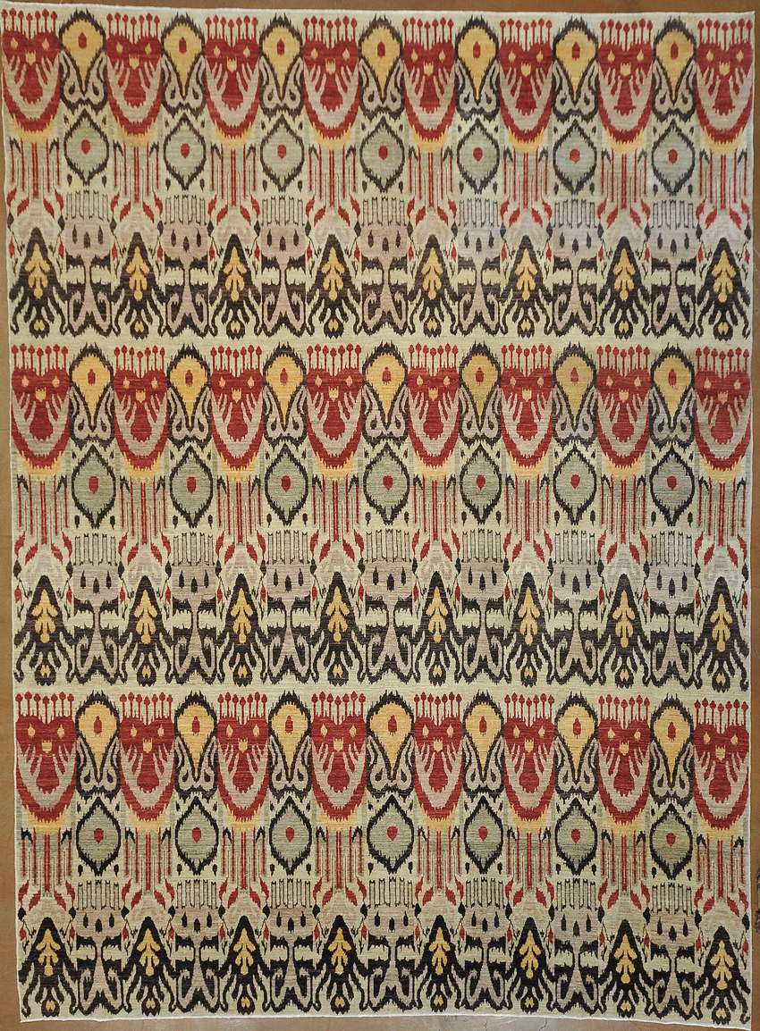 Ikat Rug rugs and more oriental carpet -