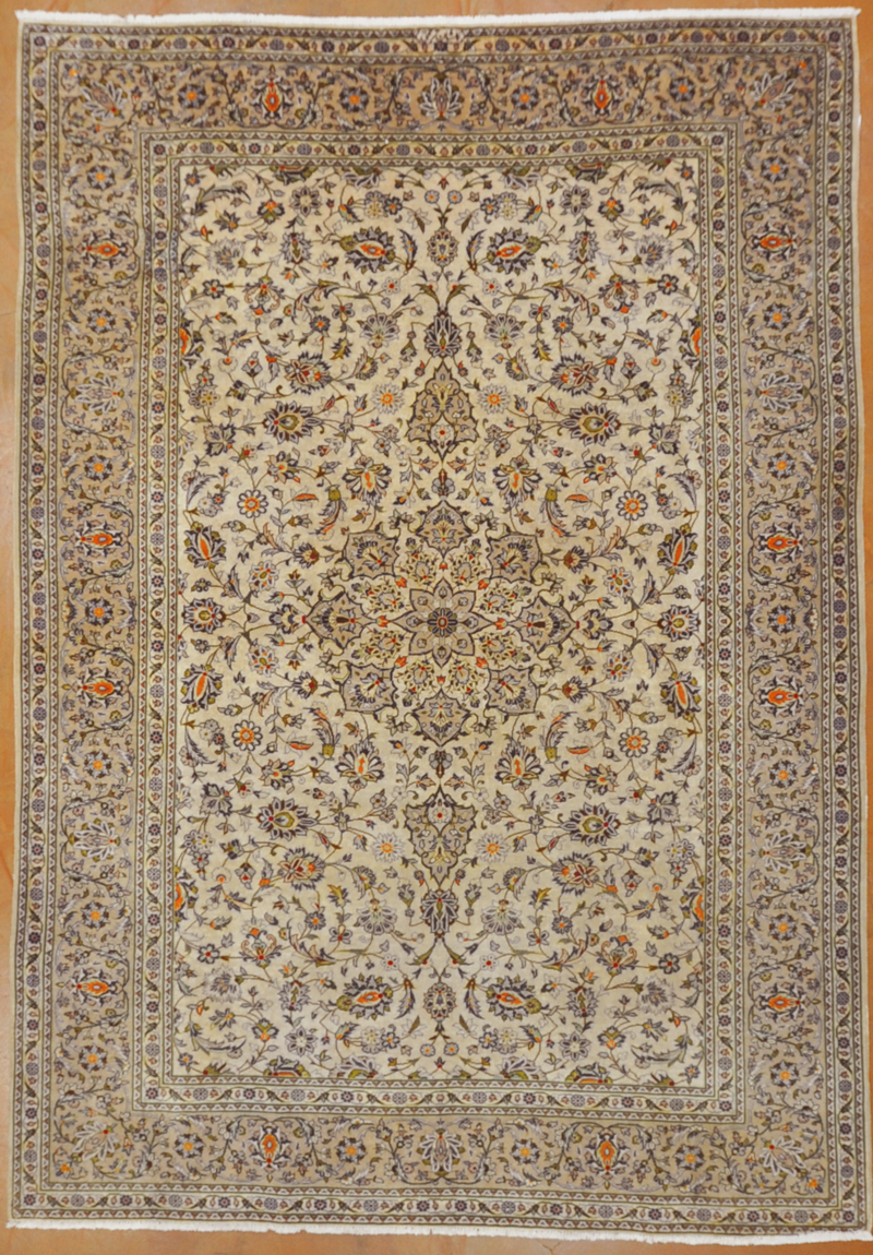 Vintage Kashan Rug rugs and more oriental carpet -