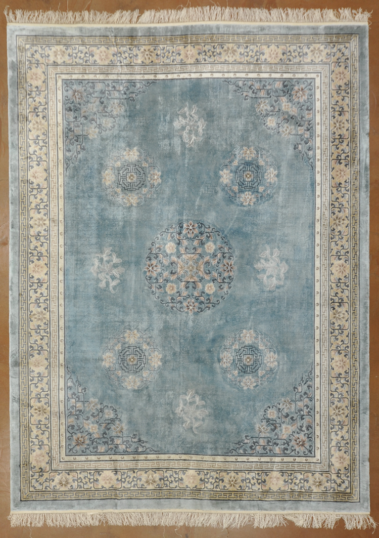 Vintage Chinese Silk rugs and more oriental carpet -