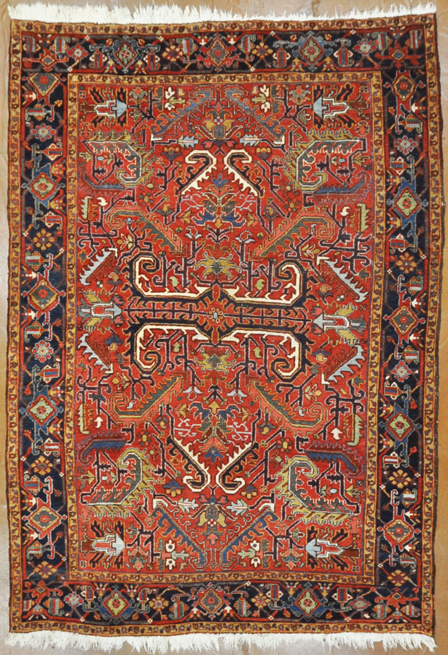 Antique Dragon Heriz rugs and more oriental carpet-
