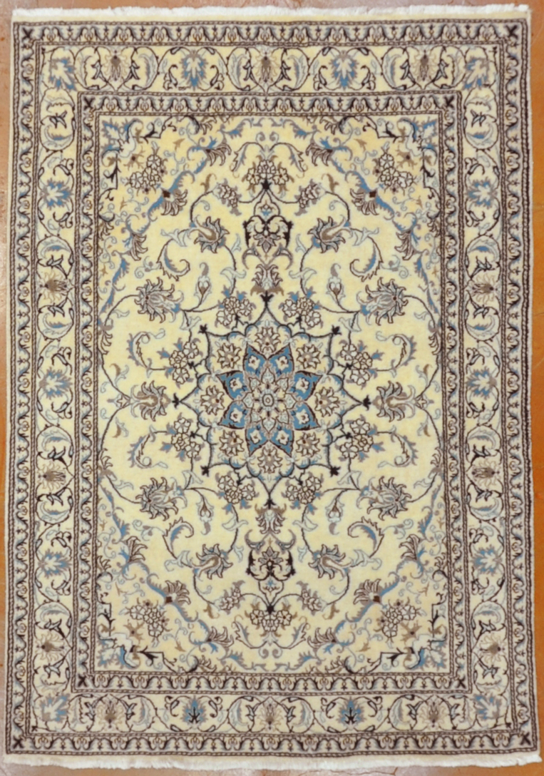 Vintage Nain Rug rugs and more oriental carpet -1