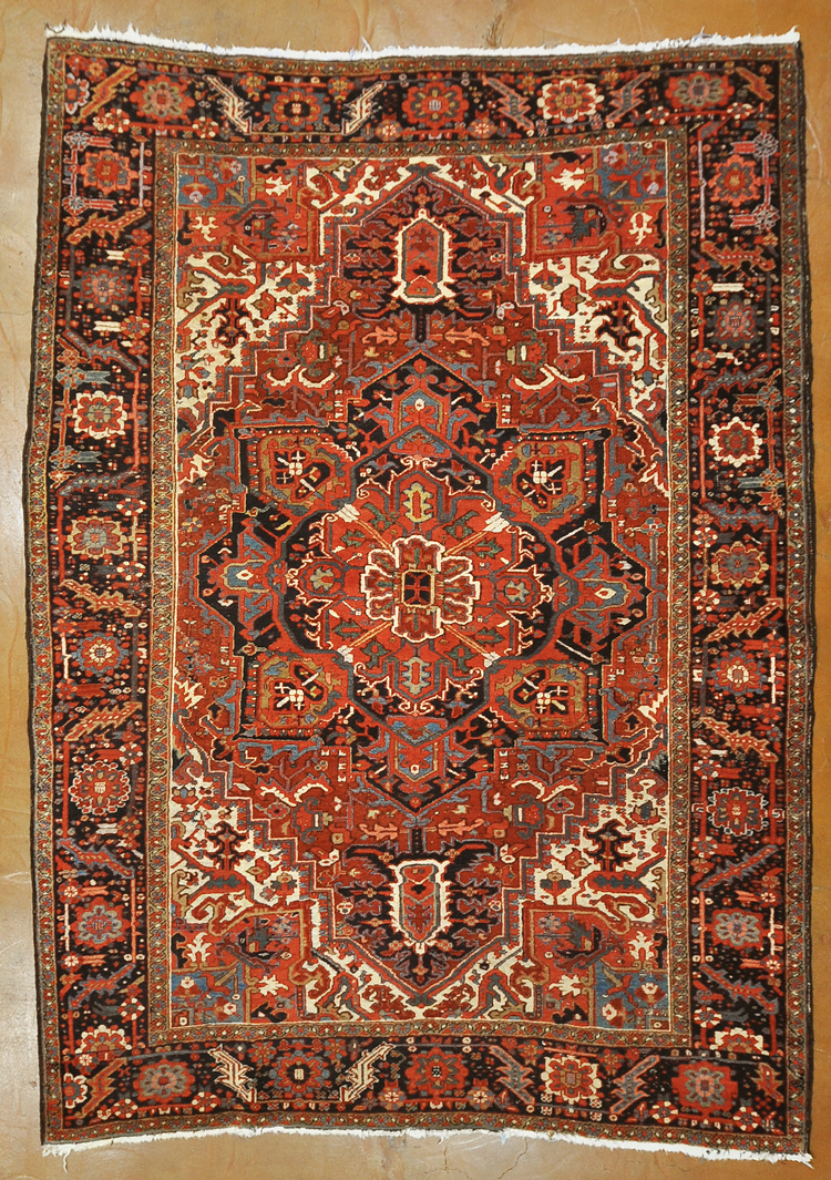 Antique Heriz Rust rugs and more oriental carpet -