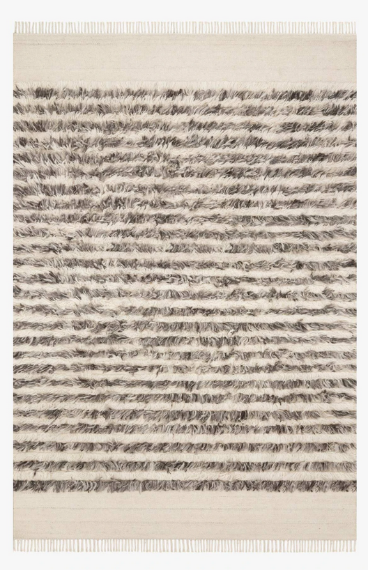 Modern Stripe Natural rugs and more 34775-1