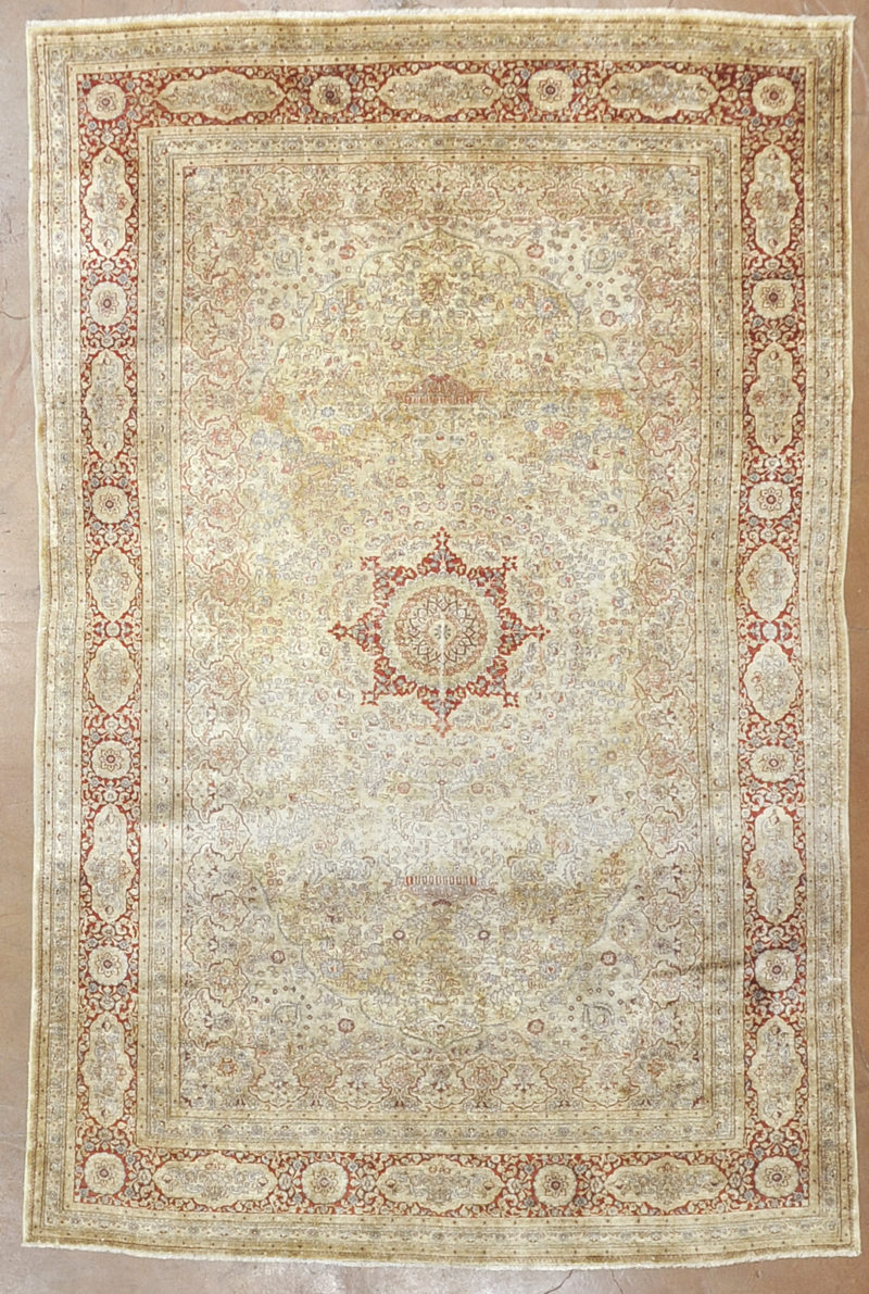 Antique Silk Rug rugs and more oriental carpet -