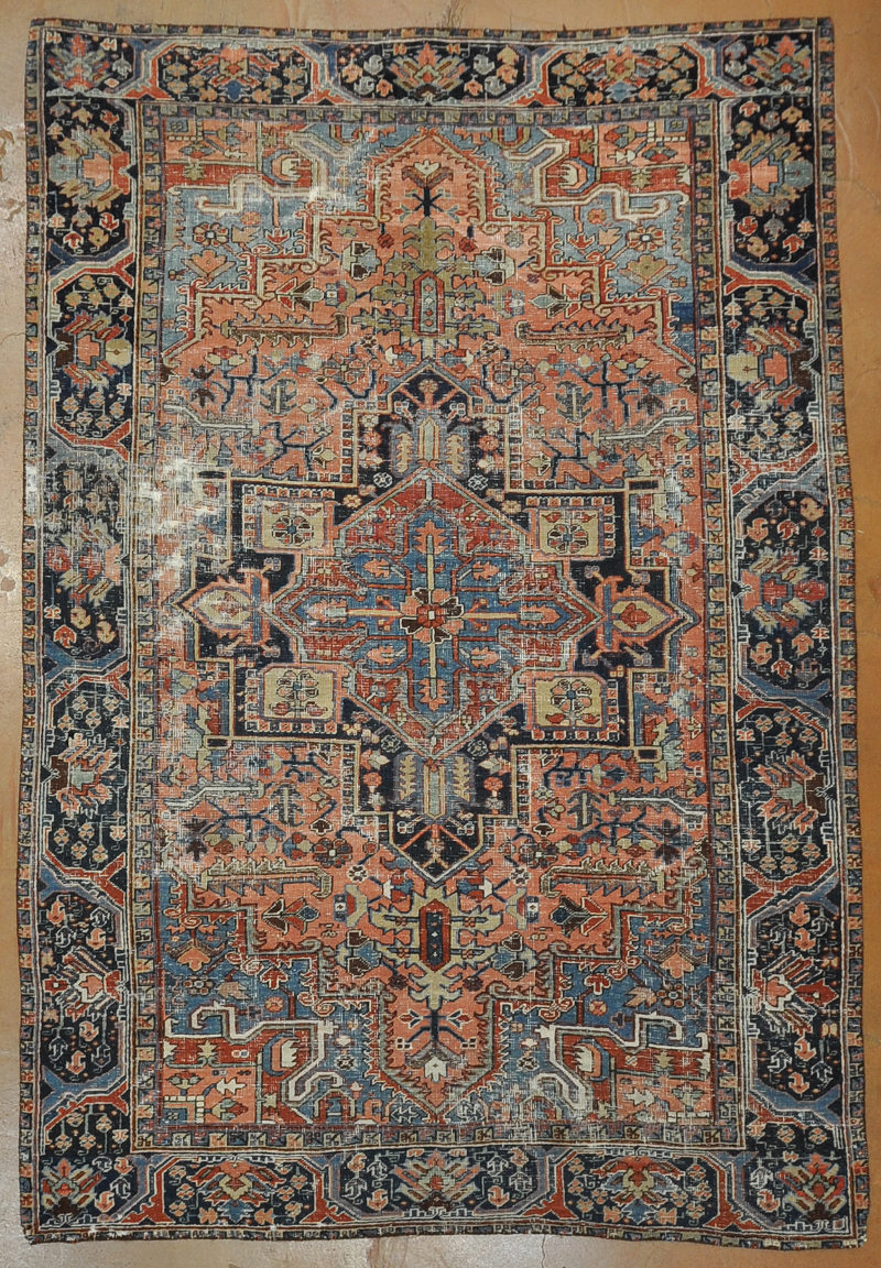 Antique Heriz Rug rugs and more -1